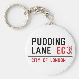 Pudding Lane Keychain