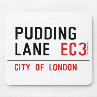 Pudding Lane Mouse Pad