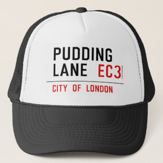 Pudding Lane Trucker Hat