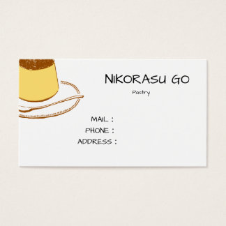 Pudding SHOP Business Card