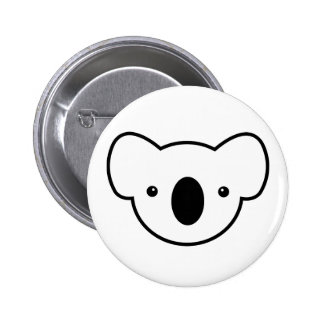 Pudding the Koala 2 Inch Round Button