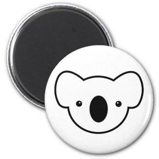 Pudding the Koala 2 Inch Round Magnet