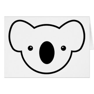Pudding the Koala Greeting Card