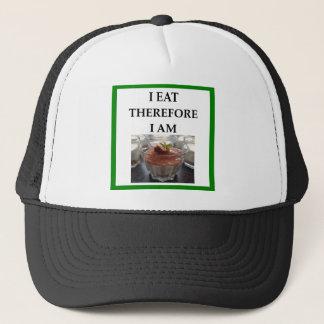 pudding trucker hat