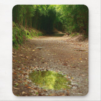 Puddle of water mouse pad