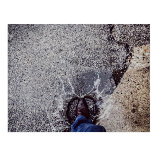 Puddle of Water Postcard