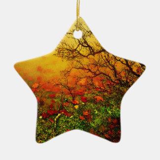 Puddle Paradise Ceramic Ornament