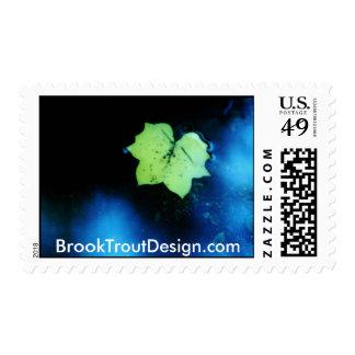 Puddle Poplar Leaf Postage