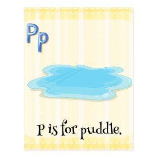 Puddle Postcard