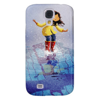 Puddle Pounce Samsung Galaxy S4 Cover