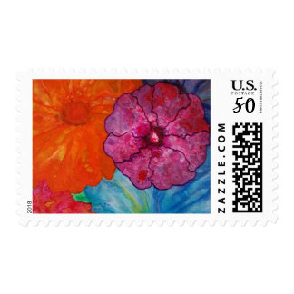 Puddle Pour Fowers Stamp