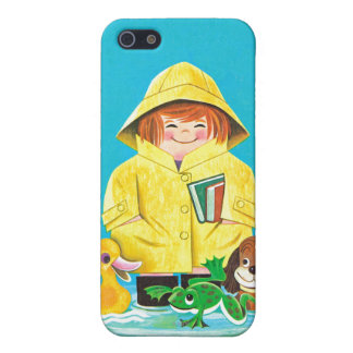 Puddles of Fun iPhone SE/5/5s Cover