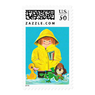 Puddles of Fun Postage