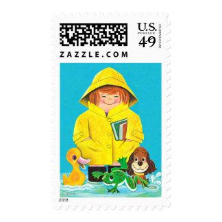 Puddles of Fun Stamp