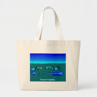 Puddles Of Poodles Funny Gifts Tees Mugs Etc Jumbo Tote Bag