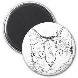 Puddy Cat Magnet