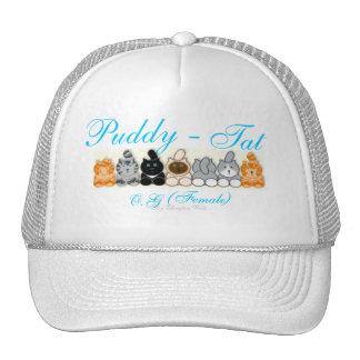 Puddy -, Tat, Hat, O.G  (Female), By Ellingto... Trucker Hat