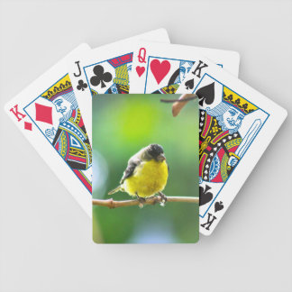 Pudgy Bird Bicycle Playing Cards