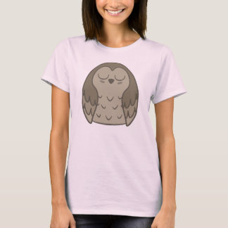 Pudgy Brown Owl T-Shirt