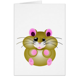 Pudgy Hamster Card