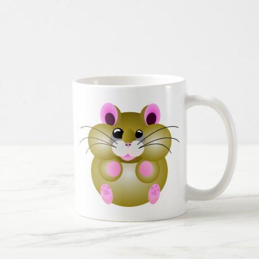 Pudgy Hamster Mug