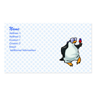 Pudgy Penguin Business Card