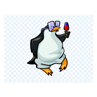 Pudgy Penguin Postcard