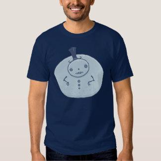Pudgy Snowman T Shirts