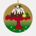 Pudín de Figgy Ornaments Para Arbol De Navidad