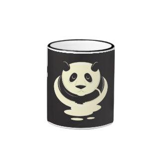 Pudín de la panda taza de café
