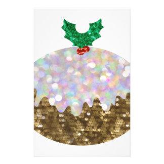 pudines del navidad de la lentejuela  papeleria de diseño
