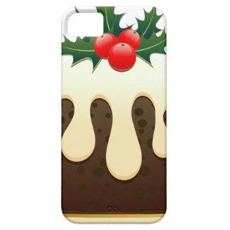 pudines del navidad funda para iPhone SE/5/5s