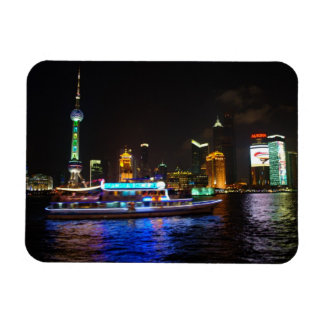 Pudong Night Skyline Magnet