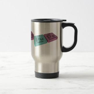 Puds as Pu Plutonium and Ds Darmstadtium Travel Mug