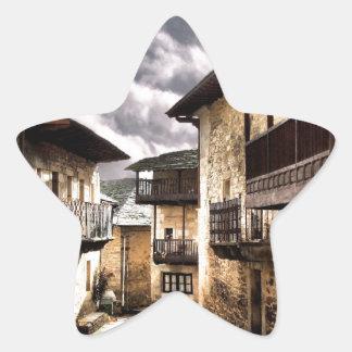 Puebla de Sanabria Star Sticker