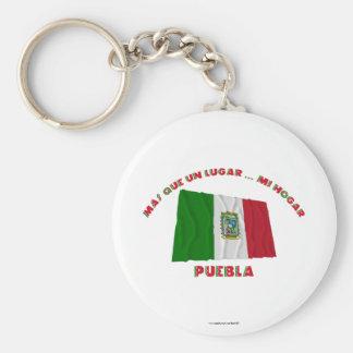 Puebla - Más Que un Lugar ... Mi Hogar Keychains