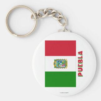 Puebla Unofficial Flag Key Chains