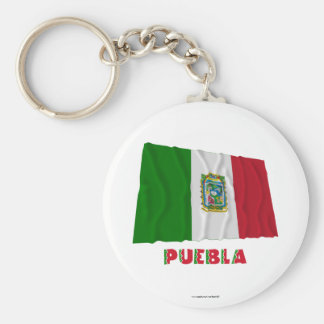 Puebla Waving Unofficial Flag Key Chains