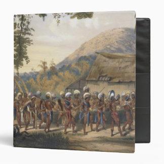 """Pueblo Anai de Caribi, cerca del río Rupununi, de Carpeta 1 1/2"""""""