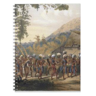 Pueblo Anai de Caribi, cerca del río Rupununi, de Cuadernos