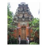Pueblo Bali de Ubud Tarjeta Postal