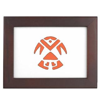 Pueblo Bird - Southwest Indian Design Memory Box
