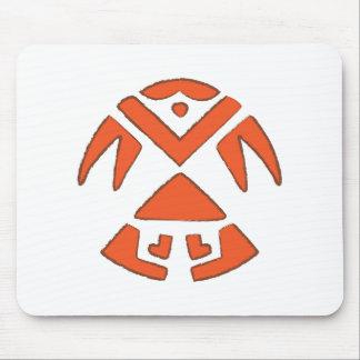 Pueblo Bird - Southwest Indian Design Mouse Pad
