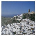 Pueblo blanco de Casares, Andalucía, España 2 Azulejos Ceramicos