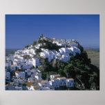 Pueblo blanco de Casares, Andalucía, España Impresiones