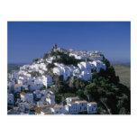 Pueblo blanco de Casares, Andalucía, España Postal