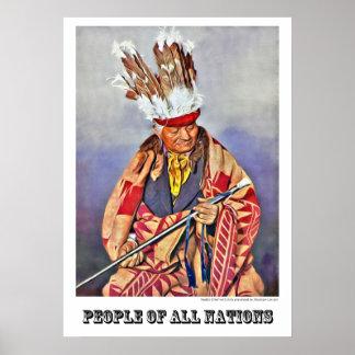 Pueblo Chief Poster