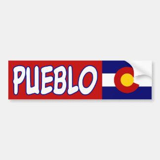 Pueblo, Colorado Bumper Sticker Car Bumper Sticker