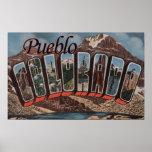 Pueblo, Colorado - escenas grandes de la letra Impresiones