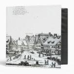 """Pueblo con mercado alemán, 1704 carpeta 1 1/2"""""""